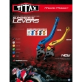 CNC moto páčky TITAX - EU homologace TUV