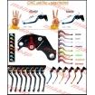 CNC páčky - stavitelné