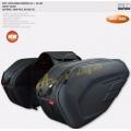 Boční moto brašny kufry 2x18-29L KOM max 58L