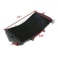 Chladič vody Honda CBR 929 RR 00 - 01